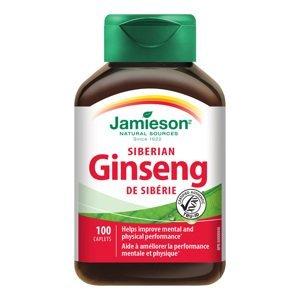 Jamieson Sibiřský ženšen 650 mg 100 tablet