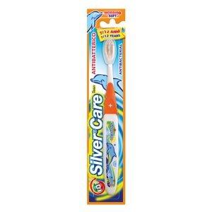 Silver care Dětský zubní kartáček 7 - 12 let střední 1 ks