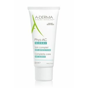 A-Derma Phys-AC Global péče o nedokonalosti pleti 40 ml