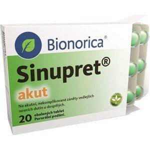 Sinupret akut 20 obalených tablet