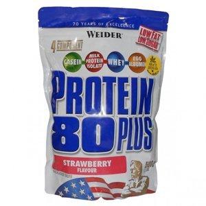 WEIDER Protein 80 Plus strawberry sáček 2000 g