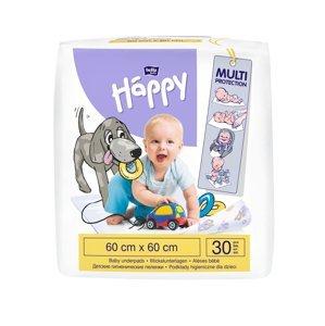 Bella Baby Happy Přebalovací podložky 60 x 60 cm 30 ks