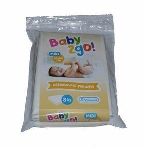 Steriwund Přebalovací podložka Baby2go! 60x60 cm 1 ks