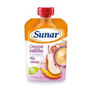 Sunar Ovocná kašička s cereáliemi mix ovoce 120 g
