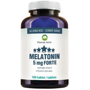 Pharma Activ Melatonin 5 mg FORTE 100 tablet