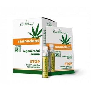 Cannaderm Cannadent regenerační sérum 10x1,5 ml