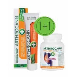 Annabis Arthrocann Gel 75 ml + Arthrocann Collagen 60 tablet