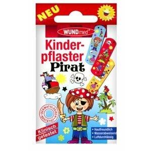 WUNDmed BOYS Piráti dětská náplast 10 ks
