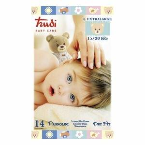 Trudi Dětské pleny Dry Fit s vrstvou Perfo-Soft XL 15-30 kg 14 ks