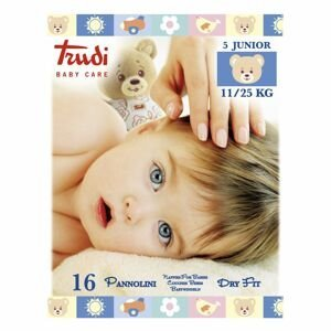 Trudi Dětské pleny Dry Fit s vrstvou Perfo-Soft junior 11-25 kg 16 ks