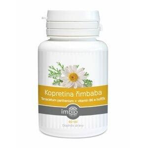 Imbio Kopretina řimbaba + vitamín B6 a hořčík 40 tablet