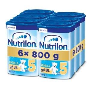 Nutrilon 5 Vanilka 6x800 g