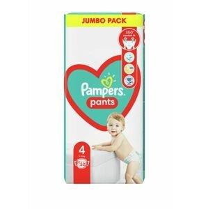 Pampers Pants vel. 4 Jumbo Pack 9-15 kg plenkové kalhotky 52 ks