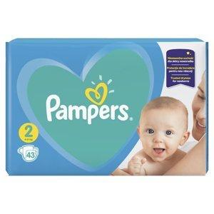 Pampers New Baby-Dry vel. 2 4-8 kg dětské pleny 43 ks