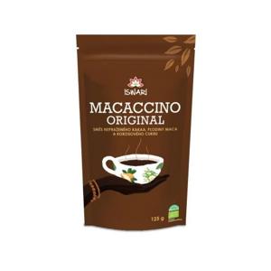 Iswari Macaccino Original BIO kakaový nápoj v prášku 125 g