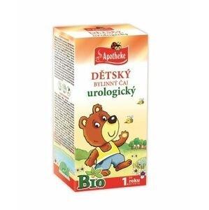 Apotheke Dětský čaj BIO urologický 20x1,5 g