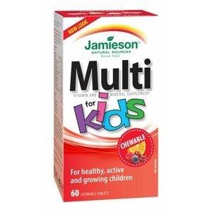 Jamieson Kids Multivitamin 60 cucacích tablet