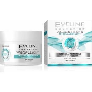 Eveline 3D Collagen&Elastin Denní/noční krém 50 ml