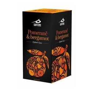 Santée Černý čaj pomeranč & bergamot porcovaný čaj 20x1,75 g