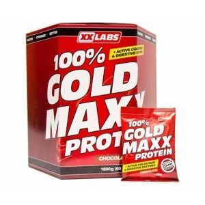 Xxlabs 100% gold maxx protein čokoláda sáčky 60x30 g