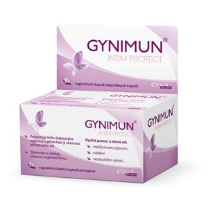 GYNIMUN intim protect 10 vaginálních kapslí