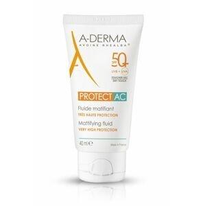 A-Derma AC SPF50+ zmatňující fluid 40 ml