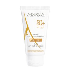 A-derma Protect Fluid SPF50+ opalovací fluid 40 ml