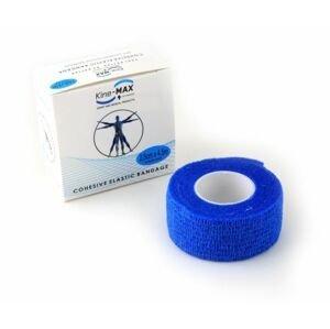 KineMAX Cohesive 2,5 cm x 4,5 m elastické obinadlo 1 ks modré