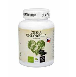 Natural Medicaments Česká chlorella se selenem 300 tablet