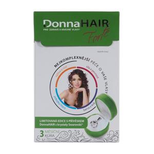 Donna Hair FORTE 3 měsíční kúra 90 tobolek + šperk Swarovski Elements