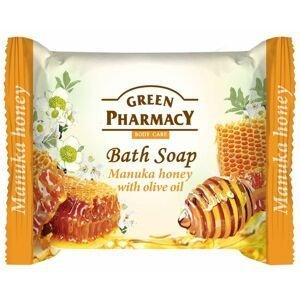 Green Pharmacy Manukový med s olivovým olejem toaletní mýdlo 100 g