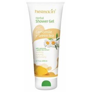 Herbacin Sprchový gel bylinný Camomile + Green Tea 200 ml