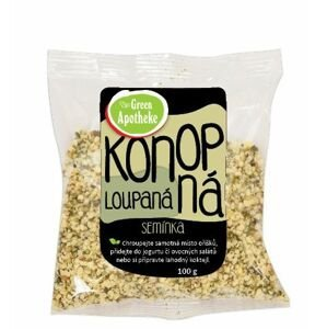 Green Apotheke Konopná semínka loupaná 100 g