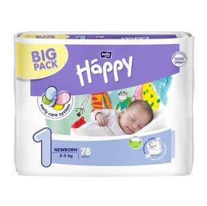 Bella Baby Happy Newborn 2-5 kg dětské plenky 78 ks