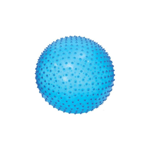 Ludi Skákací a masážní míč 45 cm 1 ks modrý