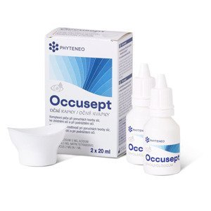 Phyteneo Occusept oční kapky s vaničkou 2x20 ml