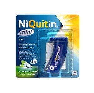 Niquitin mini 4 mg 20 lisovaných pastilek