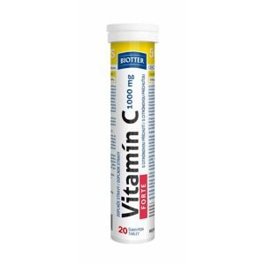 Biotter Vitamín C FORTE 1000 mg 20 šumivých tablet