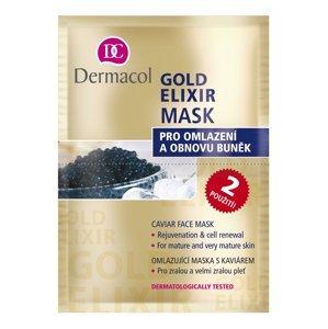 Dermacol Gold Elixir Omlazující kaviárová maska 2x8 g