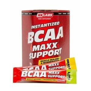 Xxlabs BCAA Maxx Support příchuť pomeranč-limetka 310 g/30 sáčků