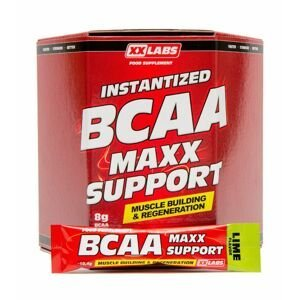 Xxlabs BCAA Maxx Support příchuť limetka 620 g/60 sáčků