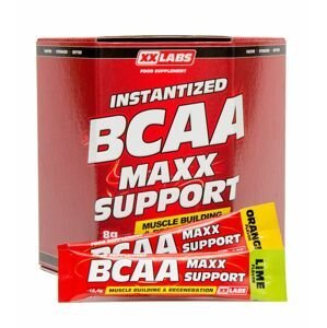 Xxlabs BCAA Maxx Support příchuť pomeranč-limetka 620 g/60 sáčků