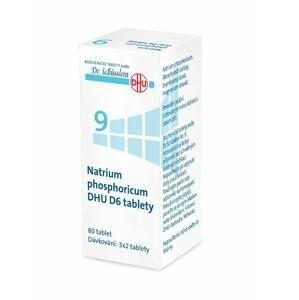 Schüsslerovy soli Natrium phosphoricum DHU D6 80 tablet