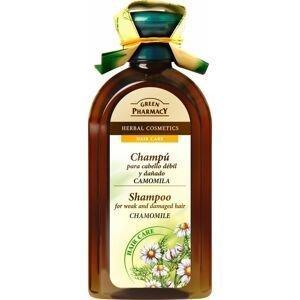 Green Pharmacy Heřmánek šampon pro slabé a poškozené vlasy 350 ml