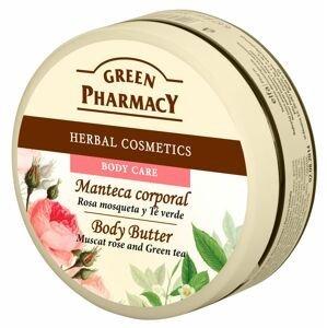 Green Pharmacy Muškátová růže a Zelený čaj tělové máslo 200 ml