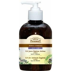 Green Pharmacy Gel na intimní hygienu uklidňující šalvěj a alantoin 370ml