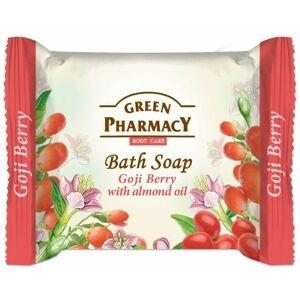 Green Pharmacy Plody kustovnice a s mandlovým olejem toaletní mýdlo 100 g
