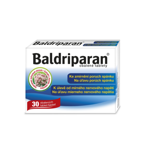Baldriparan 30 obalených tablet