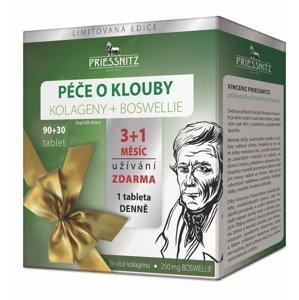 Priessnitz Kolageny + Boswellie péče o klouby 90+30 tablet