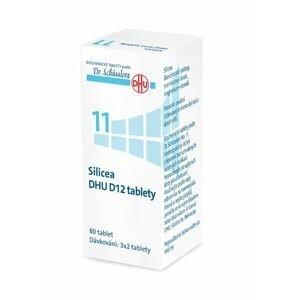 Schüsslerovy soli Silicea DHU D12 80 tablet